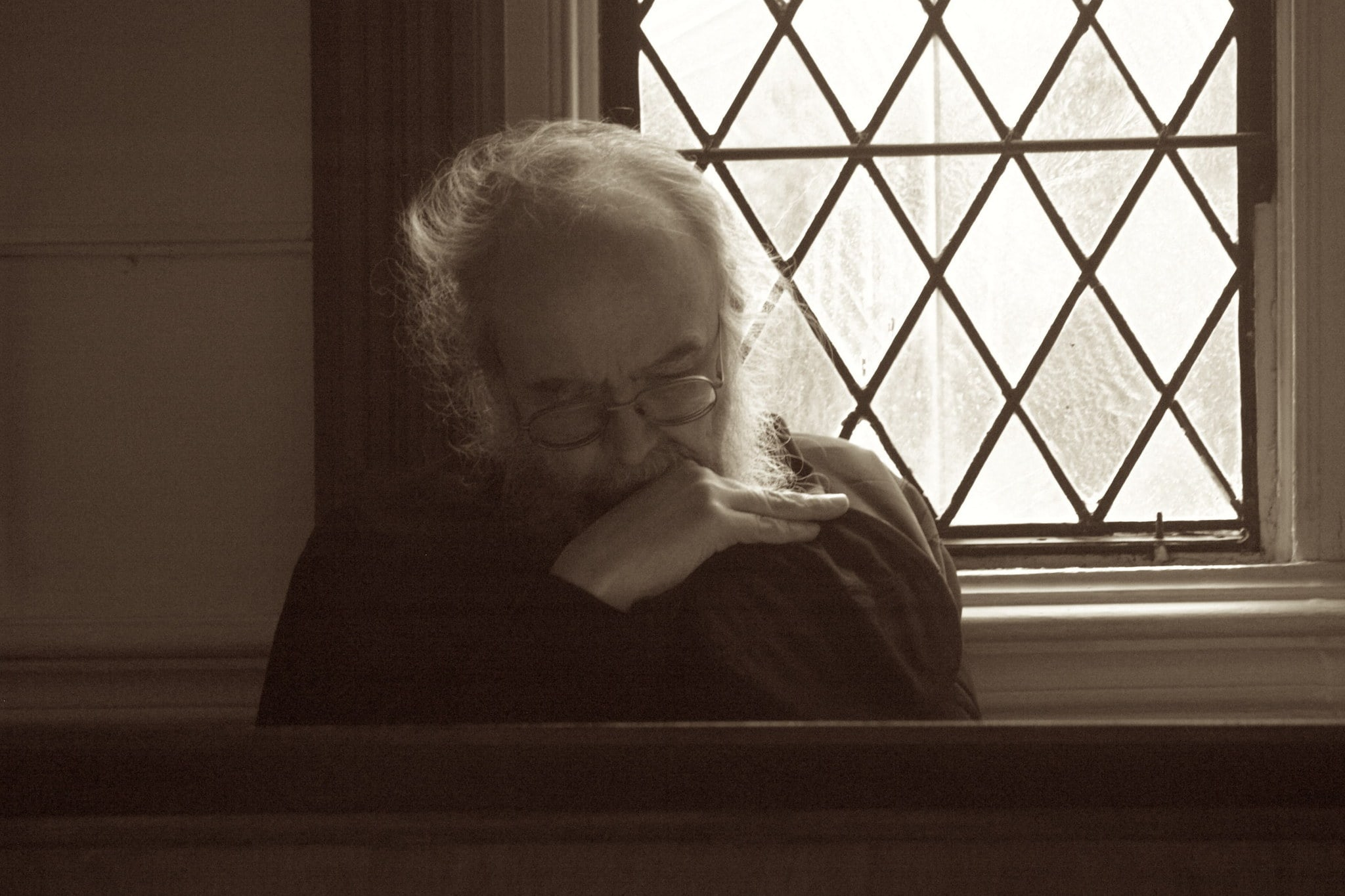 Father Cornelius in Church