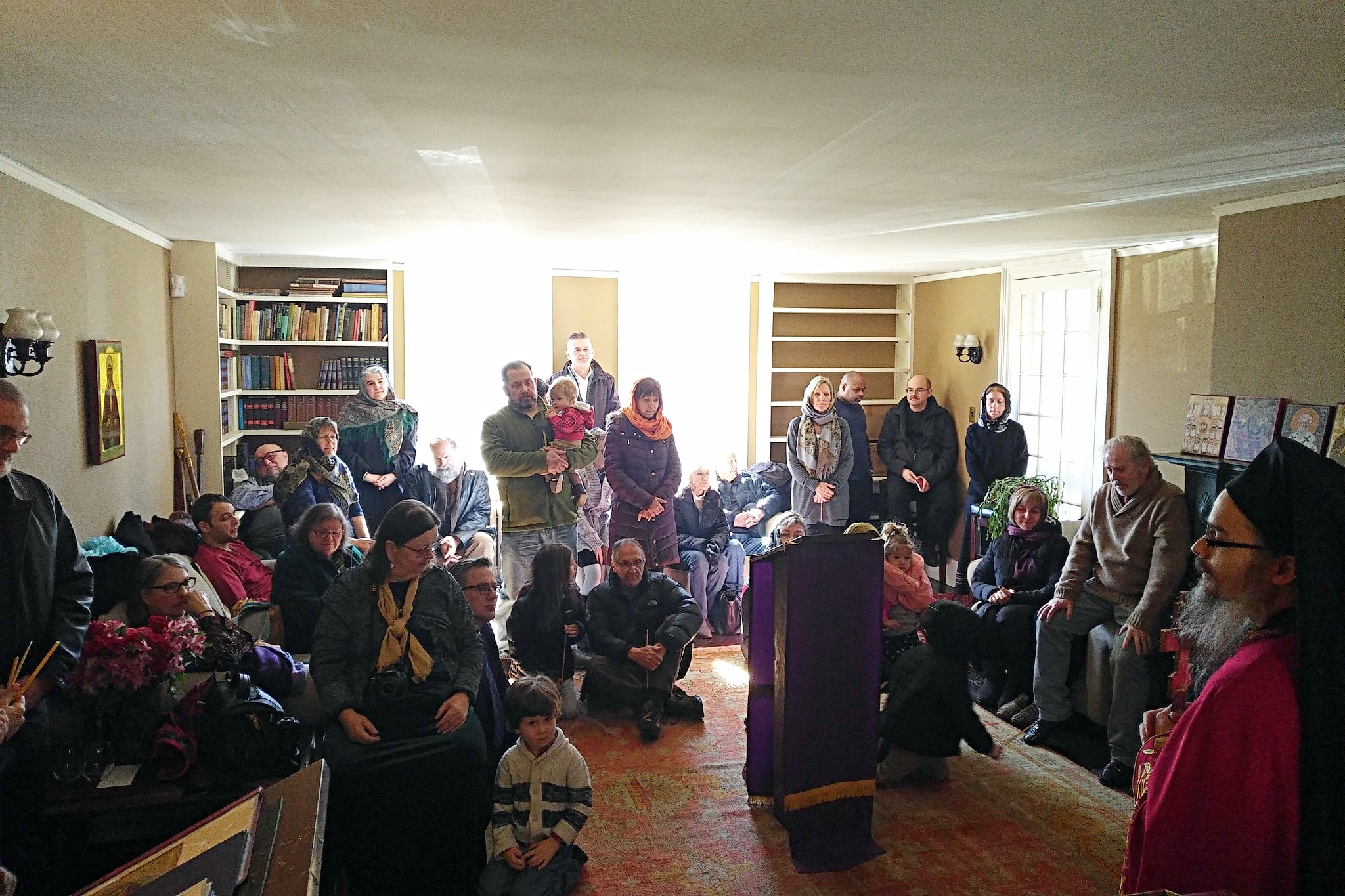 First Sunday at Monastery