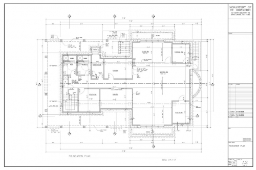 Plans for new church